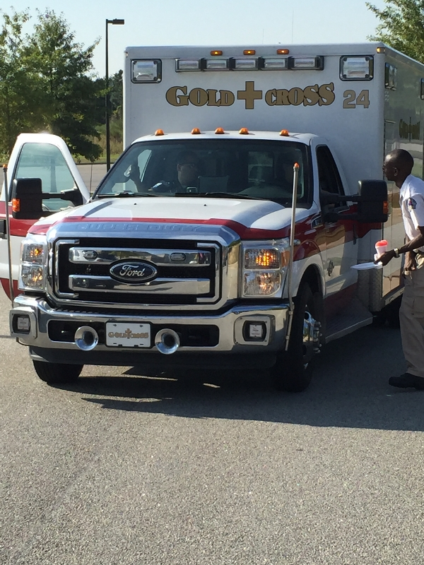 Gold Cross - 2014 Healthy Fair | Gold Cross EMS