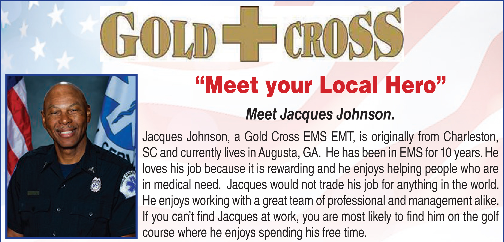 Jake | Gold Cross EMS