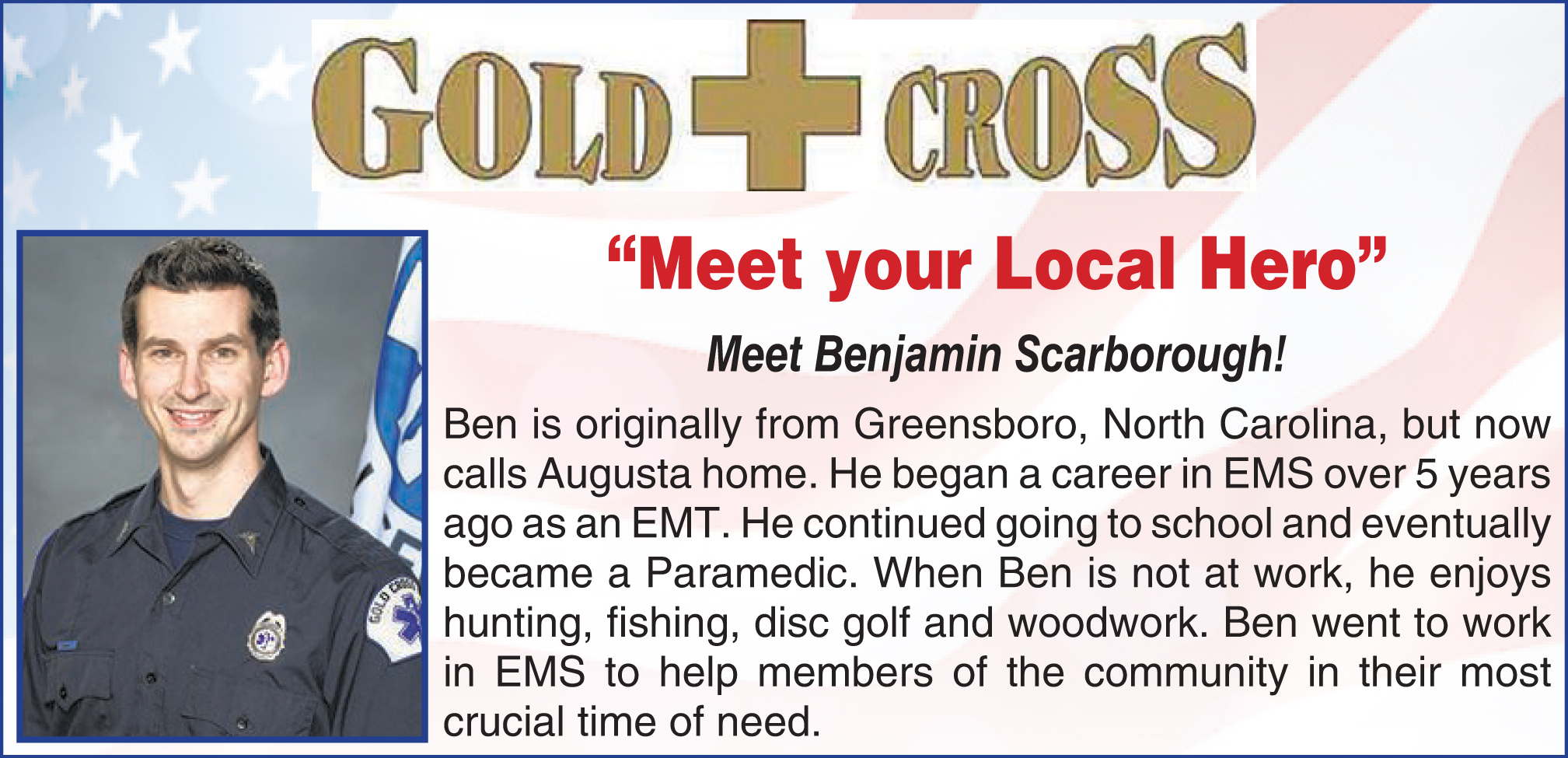 Ben | Gold Cross EMS