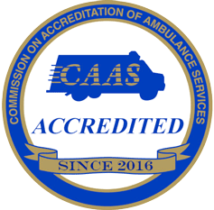 CAAS Logo | Gold Cross EMS