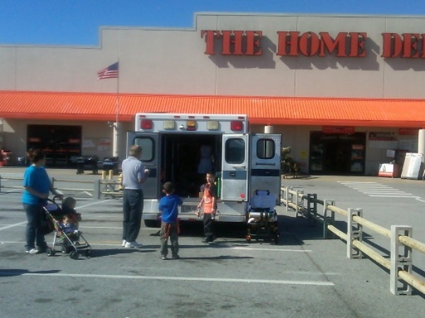 Gallery Main - Home Depot Show & Tell | Gold Cross EMS