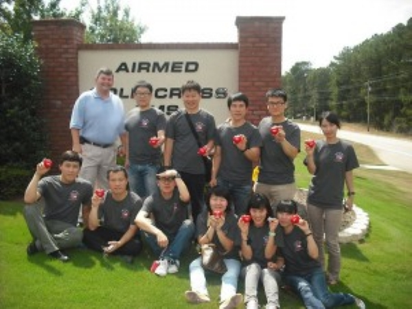Gallery Main - CEO Vince Brogdon Welcomes EMT Students from Korea to Gold Cross | Gold Cross EMS